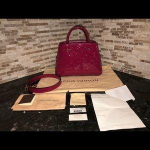 Louis Vuitton Montaigne BB Monogram Vernis Bag
